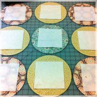Freaky Fast {Mock} Cathedral Windows via accuquilt Foto Quilts, Scrappy Quilts, Easy Quilts, Amish Quilts, Quilting Tips, Quilting Tutorials, Quilting Projects, Quilting Designs, Cathedral Window Quilts