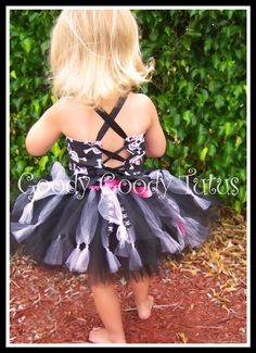 SWASHBUCKLING SWEETHEART Pirate Tutu Set with Reversible Corseted Top, Eyepatch and Hat.