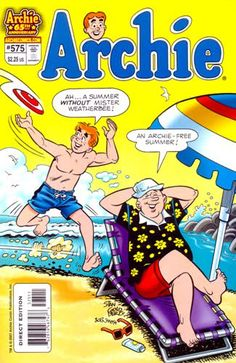 Summer just isn't summer without a stack of Archie comic books at the cottage!