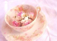 Tinted Rose Teacup