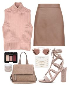 """LVE"" by mariimontero ❤ liked on Polyvore featuring Gianvito Rossi, Diesel Black Gold, Reiss, Christian Dior, Givenchy, Aéropostale, NARS Cosmetics and Sisley"