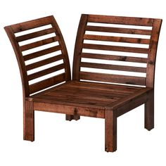 IKEA ÄPPLARÖ Corner section, outdoor Brown stained By combining different seating sections you can create a sofa in a shape and size that perfectly suits. Ikea Outdoor, Outdoor Sofa, Outdoor Decor, Ikea Garden Furniture, Furniture Layout, Outdoor Furniture, Furniture Websites, Inexpensive Furniture, Conservatory Furniture