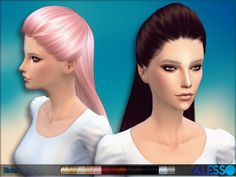 Hairdo for females  Found in TSR Category 'Sims 4 Female Hairstyles'