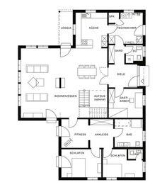 grundrisse pinterest plans de maison. Black Bedroom Furniture Sets. Home Design Ideas