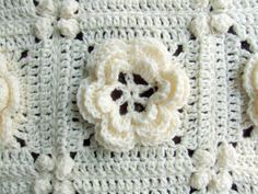 Rosanna - Granny Square / Afghan Block - Irish Rose PDF Crochet Pattern. $5,70, via Etsy.