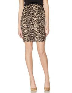 OBR Leopard Print Pencil Skirt from THELIMITED.com #Petite #LeopardSkirt #TheLimited
