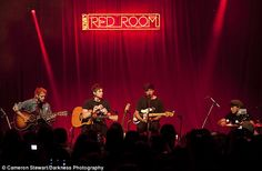 Intimate: 5 Seconds of Summer played an exclusive show for 300 fans in Melbourne on Grand Final Day Eve