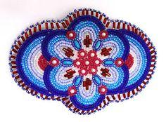 Native Alaskan beaded barrette, collection of Kathy Hinkle