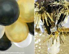 NEW YEARS EVE :: GOLDEN GLAM DINNER PARTY — Celebrations at Home
