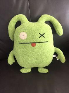"Pretty Ugly Doll Monster Green 2003 Soft Plush 12"" Toy Lovey OX T1    eBay"