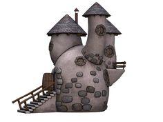 Home, Torens, Toren, Stenen Huis, Fantasie, Sprookjes