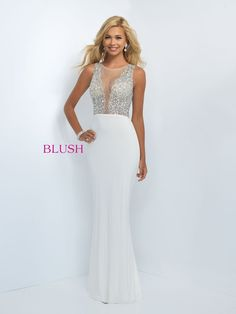 2c9d928b16 BLUSH PROM 11009 OFF WHITE   Prom Store Lawrenceville