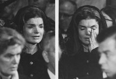 Jacqueline Kennedy ....This wonderful lady held the country together with her bravery and dedication to her husband. Imagine having to grieve with the entire world watching?