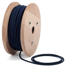 Marine Blue textile cable by CableLovers