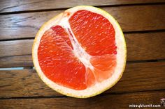 Pink Grapefruit - tasty and possess awesome slimming & beauty properties!
