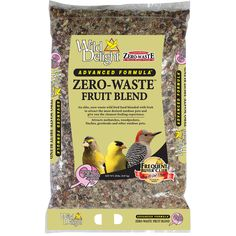 Wild Delight 20 Lb Zero-Waste Fruit Blend Bird Feed