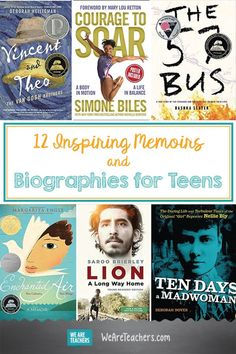 12 Inspiring Memoirs and Biographies for Teens
