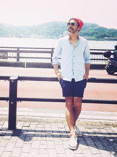 YosaKuginoさんのスニーカー「CABANE de ZUCCa 」を使ったコーディネート