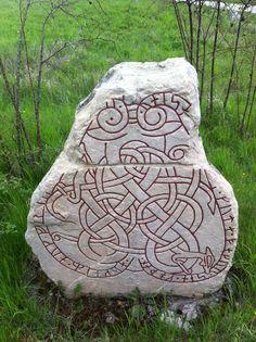 at home, rune stone