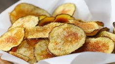 Easy Microwave Potato Chips - YouTube