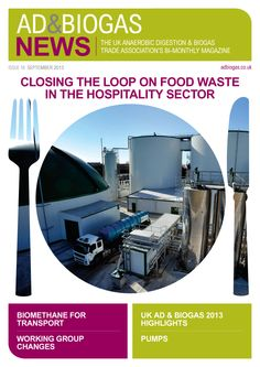 Latest issue of AD News designed by Lunatrix Design www.lunatrix.co.uk #biogas #anaerobicdigestion #newsletterdesign