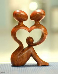 lifehearthome.com - Hand-carved Wooden Sculpture - A New Family, $42.99 (http://www.lifehearthome.com/mothers-day-gifts/hand-carved-wooden-sculpture-a-new-family/)