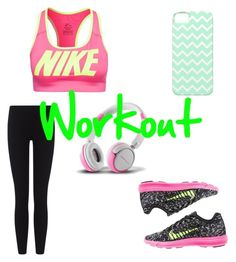 """""""Going for a Run"""" by afashionfangirl230 ❤ liked on Polyvore featuring NIKE and James Perse"""