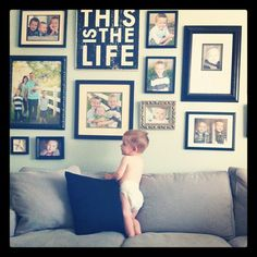 Wall by croskelley, Love the This is the life wall hanging...