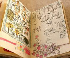 project sketchbook 2011 by pam garrison, via Flickr
