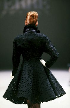 Might be a yesteryear fashion, but its still in style....LOVE THIS Gianfranco Ferré Couture F/W 1987