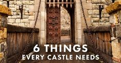 6 Things Every Castle Needs (in Honor of GOT). When you're ready to be the king of your own castle, work with Randa to find the fortress that's just right for you.
