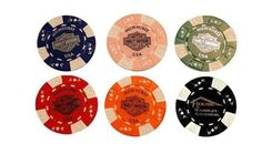 House of Harley-Davidson® Milwaukee Poker Chips. Set of Six For Your Collection. POKERCHIPS by Harley-Davidson. $5.10. The finest of all dealer poker chips direct from Milwaukee, home of Harley-Davidson®. Set of Six.