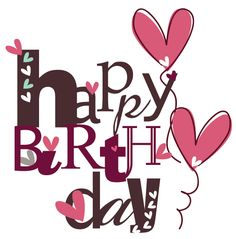 With its pink and brown color combination, this birthday greeting is perfect for…
