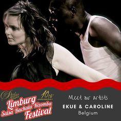 Meet the artists. Get your ticket at: LimburgSalsaFestival.com #10LSBKF #LSF #LSBKF #SalsaBrisa #Maastricht #Alwaysfun #Nonstopdancing #nonstopfun #ekuecaroline