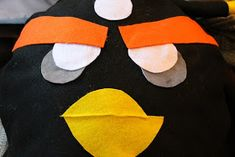 Angry Birds Costume Pattern and Tutorial