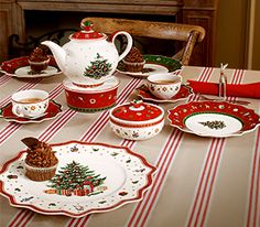 The traditional Christmas table – Villeroy & Boch