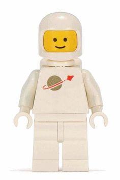oldschool LEGO astronaut