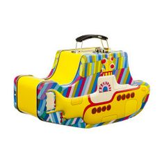 The Beatles Yellow Submarine Embossed Lunch Box