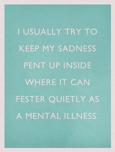 my mental illness