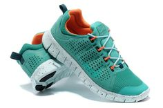 finest selection dbf48 442d5 Nike Free Powerlines For Men Green Orange Shoes For Running