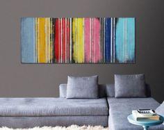 Malerei abstrakte Kunst Leinwand Wand Kunst im von RoxierArt