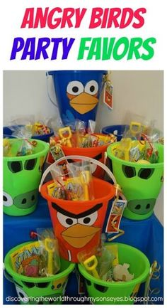 DIY Angry Birds Birthday Party Ideas I love Pink