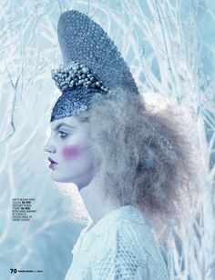 """""""Winter Wonderland"""" Marie Claire South Africa July 2014"""