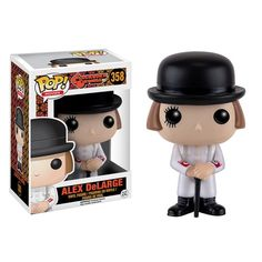 A Clockwork Orange - Alex DeLarge Pop! Not everything goes to plan, now he is a Pop Vinyl. A Clockwork Orange Alex DeLarge Pop! This way we know that you have received your item safely. Stanley Kubrick, Jupiter Jones, Arthur Curry, Men In Black, Captain Underpants, Pet Sematary, Austin Powers, Baby Driver, Skull Island