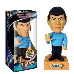 Star Trek 2 Wrath Khan Talking Wacky Wobbler Bobble-Head