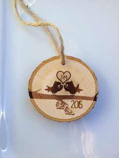 Personalized Christmas ornament engraved by Sweetpinehills on Etsy