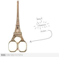 Eiffel Tower Scissors - Je les veux!!