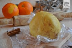 Pasta frolla arancia e cannella, un impasto base aromatico ideale per confezionare biscotti natalizi, ma anche crostate e tartellette.