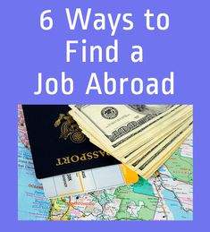 6 Practical Tips on Finding a Job Abroad. Contains links to expat job boards. Work Overseas, Moving Overseas, Overseas Jobs, International Jobs, Travel Jobs, Travel Ideas, Travel Photos, Travel Guide, Travel Inspiration