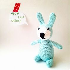 Easter Bunny in mint spring color, $27.00